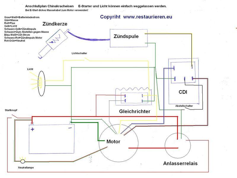 Elektrischer-Schaltplan