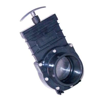 Absperrschieber DN 90 mm Eco (Zugschieber) für KG, HT und PVC Rohre aus Kunststoff