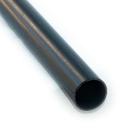 PVC Rohr 50 mm Durchmesser aussen und 1 m Länge als Meterware Zuschnitt für Leitung aus Kunststoff Plastik