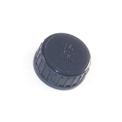 Verschlusskappe mit Dichtung und G 1 1/4 Zoll Innengewinde aus PVC-U Kunststoff von VDL