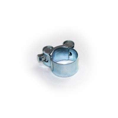 Gelenkbolzenschelle mit 26-28 mm Spannbereich in W1 Stahl verzinkt rundziehend günstig online kaufen