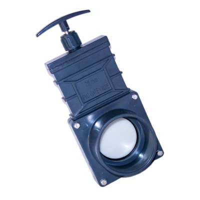 Absperrschieber DN 75 mm Eco (Zugschieber) für KG, HT und PVC Rohre aus Kunststoff