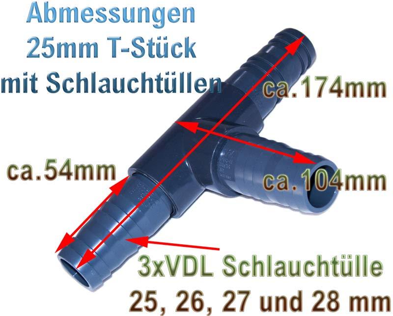 t-stueck-25-mm-1-zoll-pvc-kunststoff-plastik-mit-schlauchtuellen-25-26-27-28-mm-abmessungen-vdl