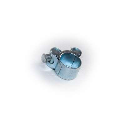 Gelenkbolzenschelle mit 20-22 mm Spannbereich in W1 Stahl verzinkt rundziehend günstig online kaufen