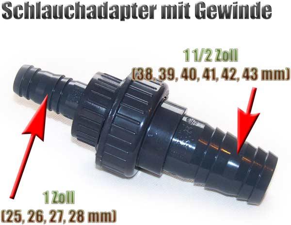 schlauchadapter-gewinde-38-39-40-41-42-43-mm-auf-25-26-27-28-mm-1-1-2-zoll-auf-1-zoll-pvc-1