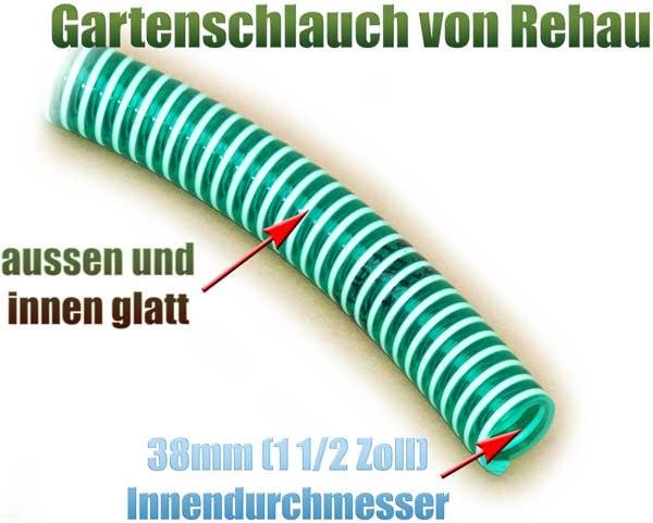 gartenschlauch-flexibel-38mm-1-1-2-zoll-meterware-rehau-gruen-transparent-knickfrei-spirale-pumpe-1