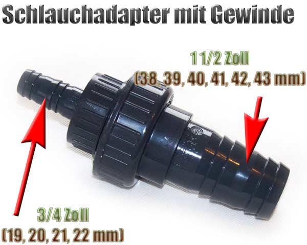 schlauchadapter-gewinde-38-39-40-41-42-43-mm-auf-19-20-21-22-mm-1-1-2-zoll-auf-3-4-zoll-pvc-1