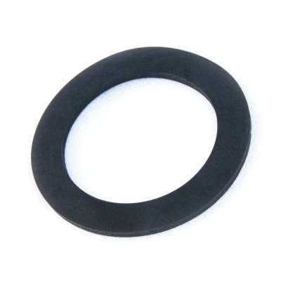 Flachdichtung 70 x 49 x 3 mm für G 1 1/2 Zoll Aussengewinde schwarz rund EPDM Gummi Ring Dichtungsring