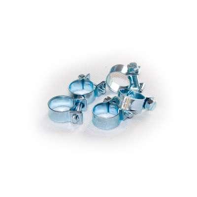 Mini Schlauchschelle (Spannbackenschelle) 14-16 mm W1 rundziehend 9mm breit als 5 Stück Set