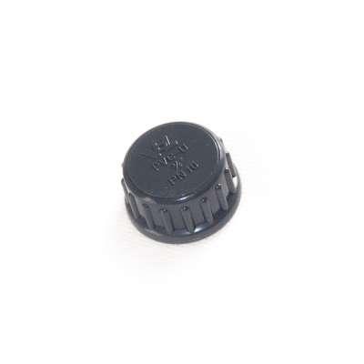 Verschlusskappe mit Dichtung und G 3/4 Zoll Innengewinde aus PVC-U Kunststoff von VDL