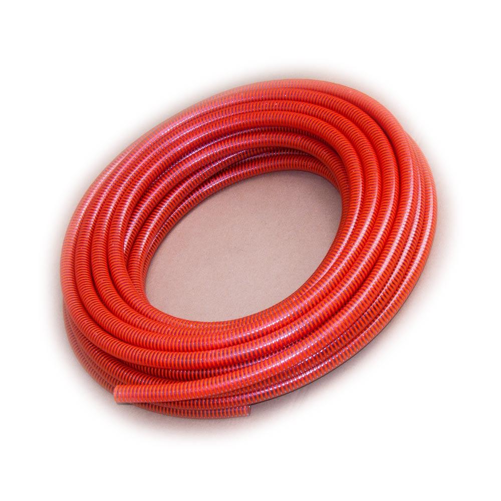 Turbo Saugschlauch 25mm (1 Zoll) lebensmittelecht rot Rehau 25m XP49