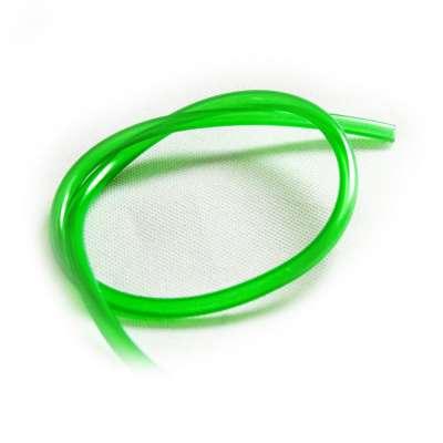 Luftschlauch 4mm PVC als Meterware transparent grün für Aquarium, Auto, Motorrad und Werkstatt