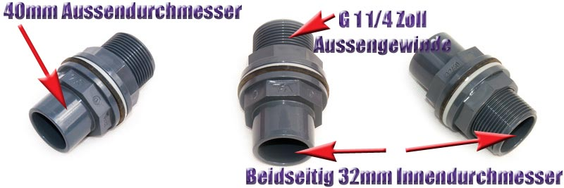 tankdurchfuehrung-32-40-mm-g-1-1-4-zoll-aussengewinde-dichtung-mutter-pvc-kunststoff-anschluss-vdl-2
