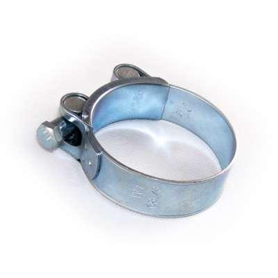 Gelenkbolzenschelle mit 68-73 mm Spannbereich in W1 Stahl verzinkt einteilig günstig online kaufen