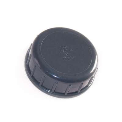 Verschlusskappe mit Dichtung und G 2 Zoll Innengewinde aus PVC-U Kunststoff von VDL