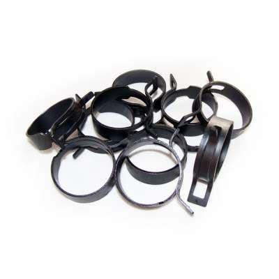 Federschellen W1 im 10 Stück Set für 36-44 mm Durchmesser schwarz beschichtet im Shop kaufen