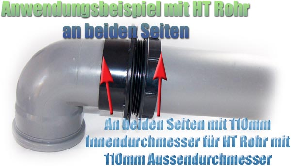 tankanschluss-pp-kunststoff-110-mm-ht-kg-pvc-rohr-beidseitig-aussengewinde-mutter-dichtung-connector-3
