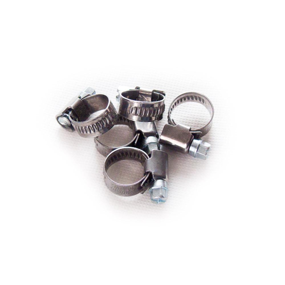 Schlauchschelle 60-80 mm 10 Stück Klemmschellen Schneckenschellen Schellen