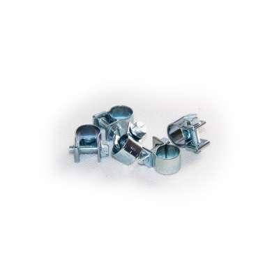Mini Schlauchschelle (Spannbackenschelle) 9-11 mm W1 rundziehend 9mm breit als 5 Stück Set