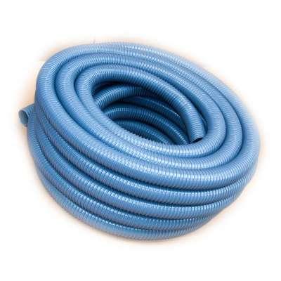 Spiralschlauch 50mm 2 Zoll grau Rehau 25m Rolle PVC