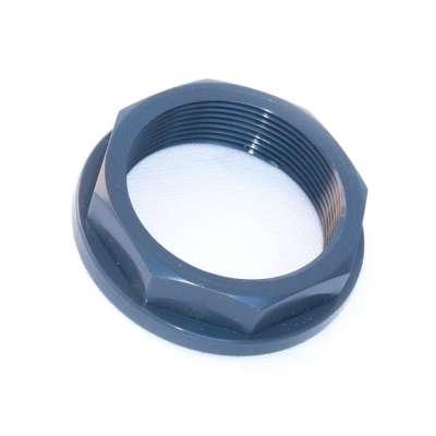 Mutter VDL PVC Kunststoff Plastikmutter (Schraubring) mit Achtkant und G 2 Zoll Innengewinde