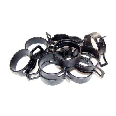 Federschellen W1 im 10 Stück Set für 39-47 mm Durchmesser schwarz beschichtet im Shop kaufen