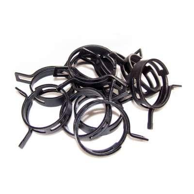Federschellen W1 im 10 Stück Set für 42-50 mm Durchmesser schwarz beschichtet online kaufen
