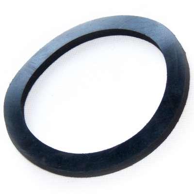 Dichtung EPDM Gummi 110 x 88 x 5 mm rund flach schwarz als Dichtungsring für Anschlüsse (Abdichtring)