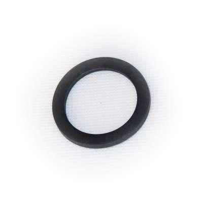Dichtung 45 x 34 x 3 mm für G 1 1/2 Zoll Innengewinde Ring schwarz rund EPDM Gummiring für Verschlusskappen