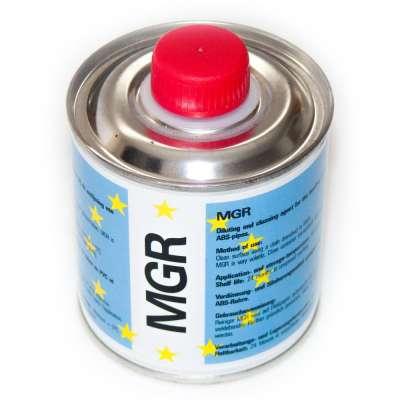 PVC Reiniger 250 ml Dose zum Entfetten von PVC-U Fittings vor dem Verkleben