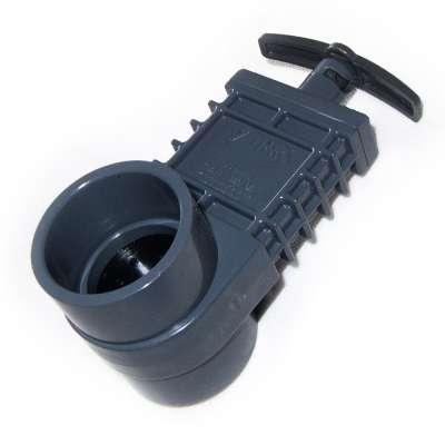 Absperrschieber DN 50 mm Valterra (Zugschieber) Unibody extra stark für KG, HT und PVC Rohre aus Kunststoff