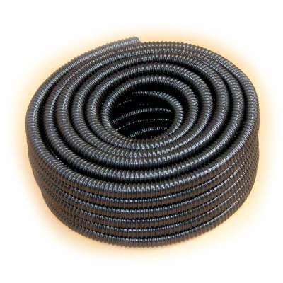 Spiralschlauch 25m Rollenware in schwarz von Rehau mit 32mm (1 1/4 Zoll) Innendurchmesser und UV-beständig