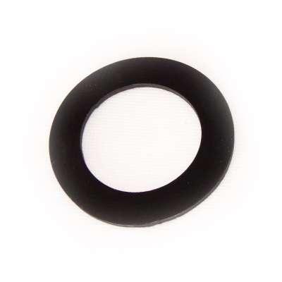 Dichtung EPDM Gummi 77 x 50 x 3 mm rund flach schwarz als Dichtungsring für Anschlüsse (Flachdichtungsring)