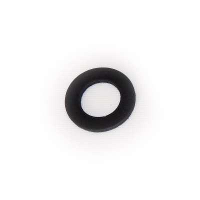 Dichtung EPDM Gummi 43 x 24 x 3 mm rund flach schwarz als Dichtungsring für Anschlüsse (Flachdichtung)