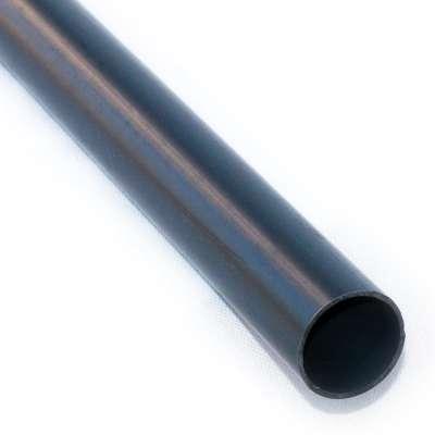 PVC Rohr 40 mm Durchmesser aussen und 1 m Länge als Meterware Zuschnitt für Leitung aus Kunststoff Plastik