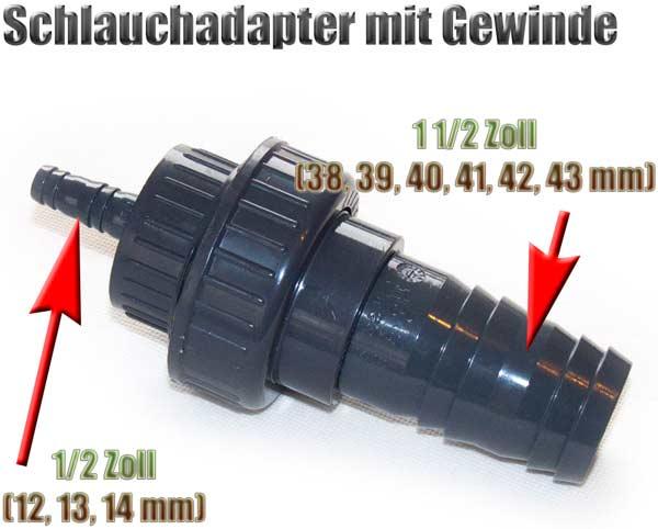 schlauchadapter-gewinde-38-39-40-41-42-43-mm-auf-12-13-14-mm-1-1-2-zoll-auf-1-2-zoll-pvc-1