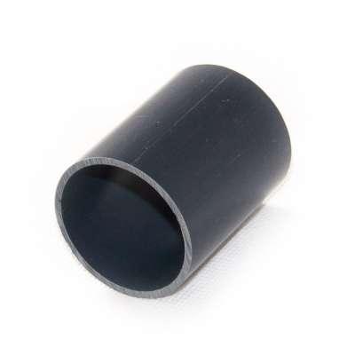 Verbindungsstück 40 x 52 mm (1 1/2 Zoll) PVC Kunststoff Rundrohr Verbinder Rohrstück Adapter für PVC-U Fittings