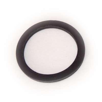 Dichtung 73 x 57 x 4 mm für G 2 1/2 Zoll Innengewinde Ring schwarz rund EPDM Gummiring für Tankdeckel