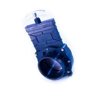 Absperrschieber DN 110 mm Eco (Zugschieber) für KG, HT und PVC Rohre aus Kunststoff