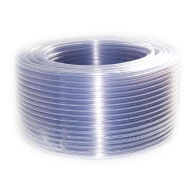 Luftschlauch 6mm PVC als 100m Rolle transparent klar für Auto, Motorrad und Werkstatt